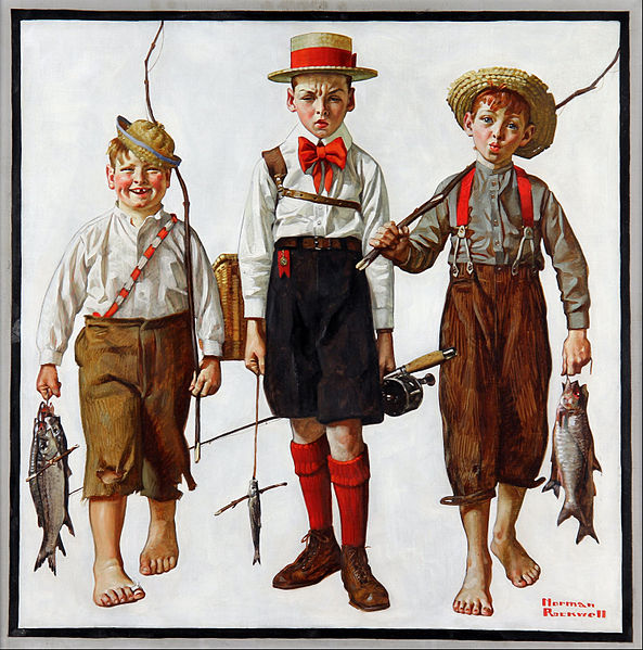 593px-Norman_Rockwell_-_Catch,_The_-_Google_Art_Project